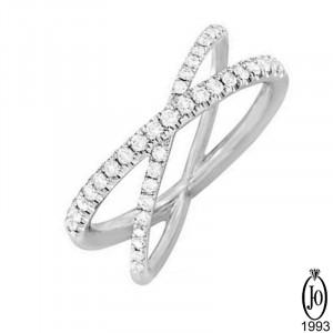 Кольцо из Платины с бриллиантами D2 Pt950