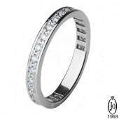 Кольцо из Платины с бриллиантами D3 Pt950