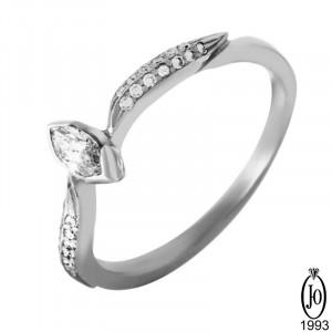 Кольцо из Платины с бриллиантами D4 Pt950