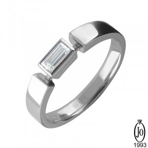 Кольцо из Платины с бриллиантами B5 Pt950