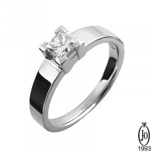 Кольцо из Платины с бриллиантом B2 Pt950