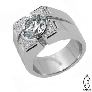 Кольцо из Платины с бриллиантами B12 Pt950