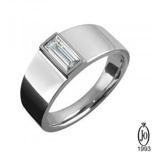 Кольцо из Платины с бриллиантами B4 Pt950
