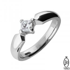 Кольцо из Платины с бриллиантами B10 Pt950