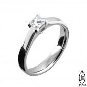 Кольцо из Платины с бриллиантами B9 Pt950