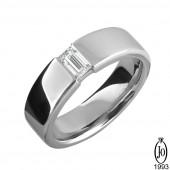 Кольцо из Платины с бриллиантами B7 Pt950